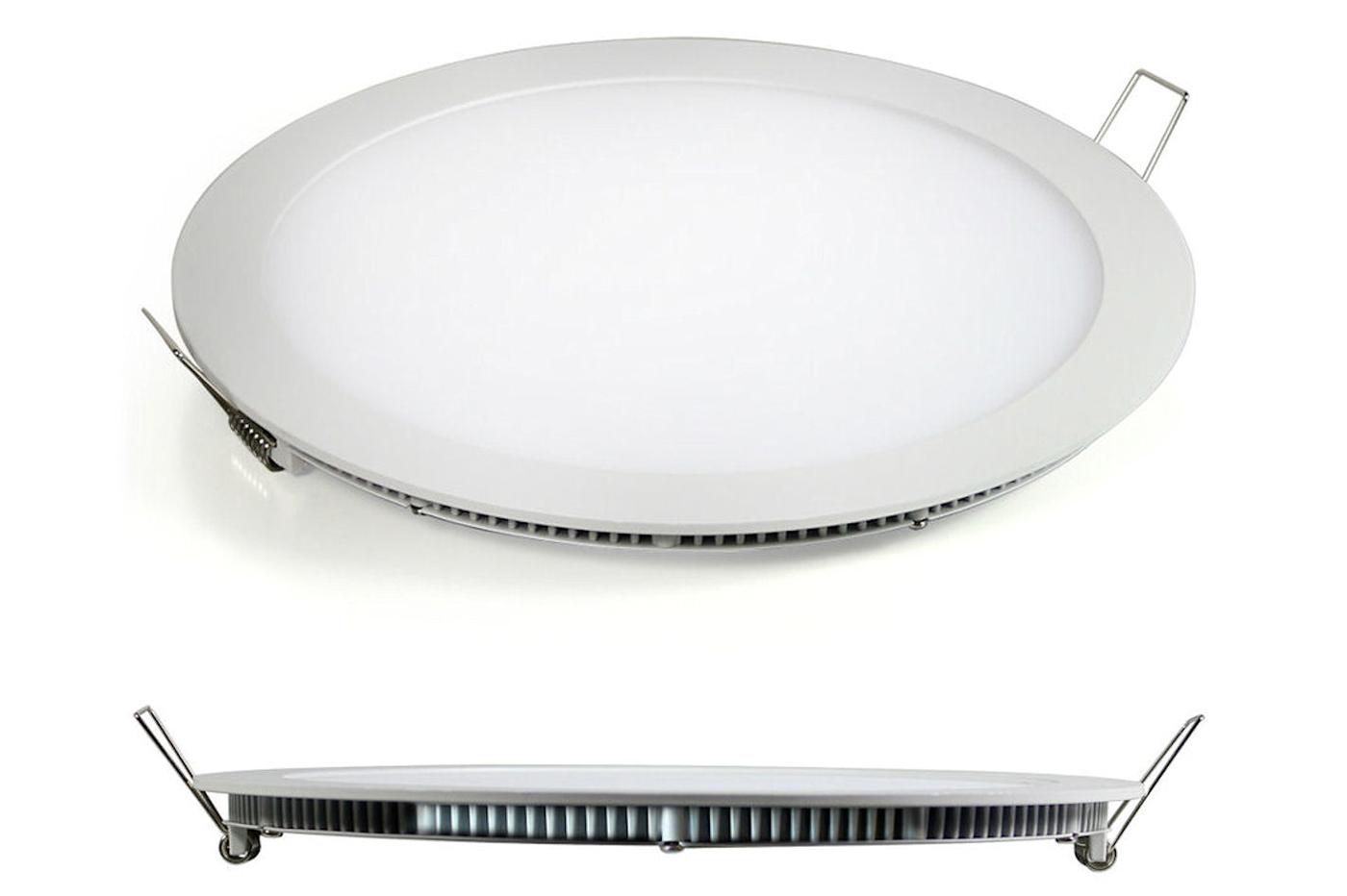 Plafoniera Led Incasso 24w : Bes pannelli beselettronica faretto led w watt luce
