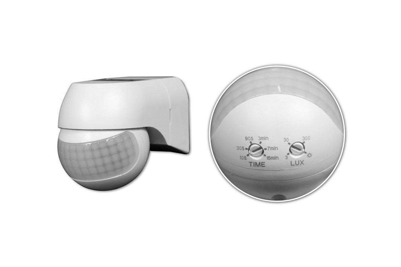 Plafoniera Da Esterno Con Sensore Di Movimento E Crepuscolare : Bes accessori beselettronica sensore movimento