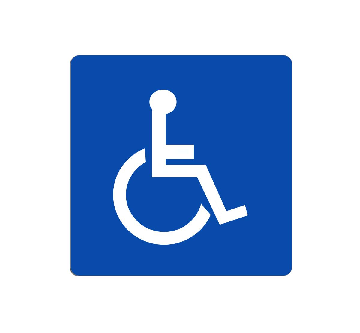 cartello segnaletica wc bagno uomini donne disabili targa