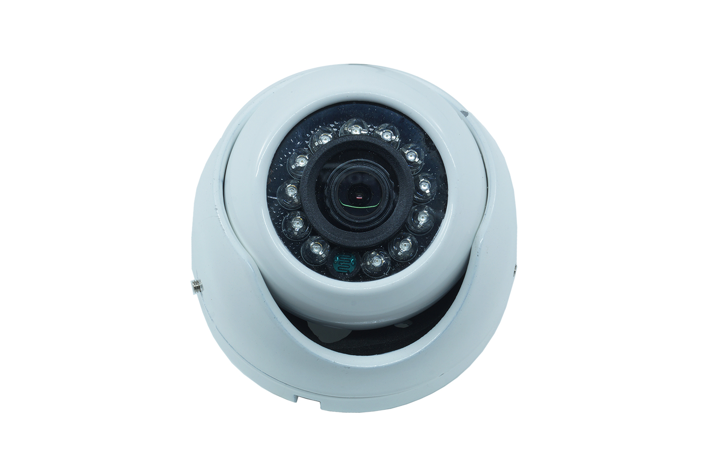 TELECAMERA VIDEOSORVEGLIANZA DOME CCD 12 LED 3.6 MM 1.3MP IR JT-2006A-12