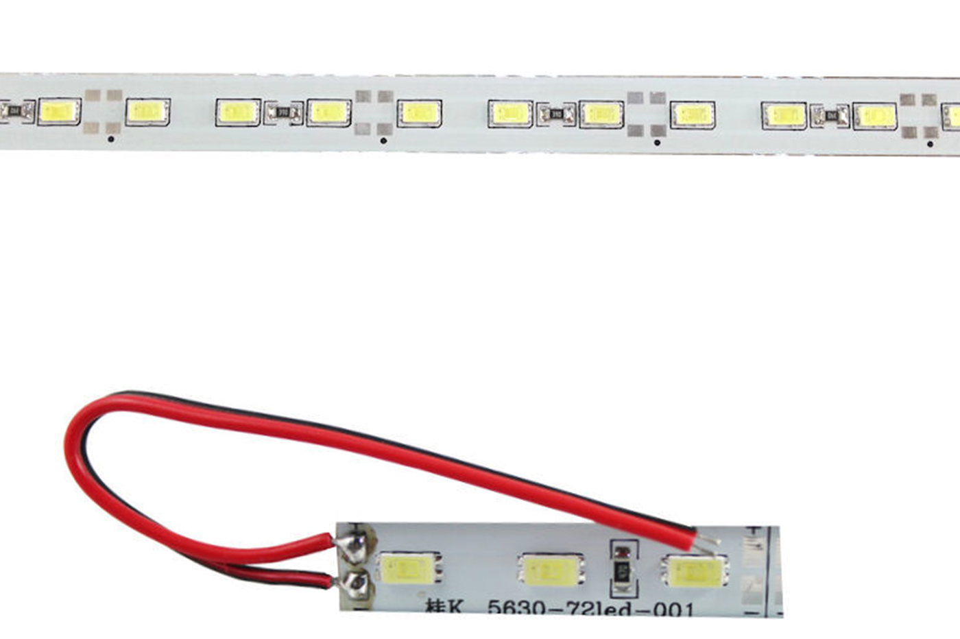 STRISCIA LED RIGIDA 1 METRO 1 M 5630 5050 5730 4014 BARRA STRIP LUCE