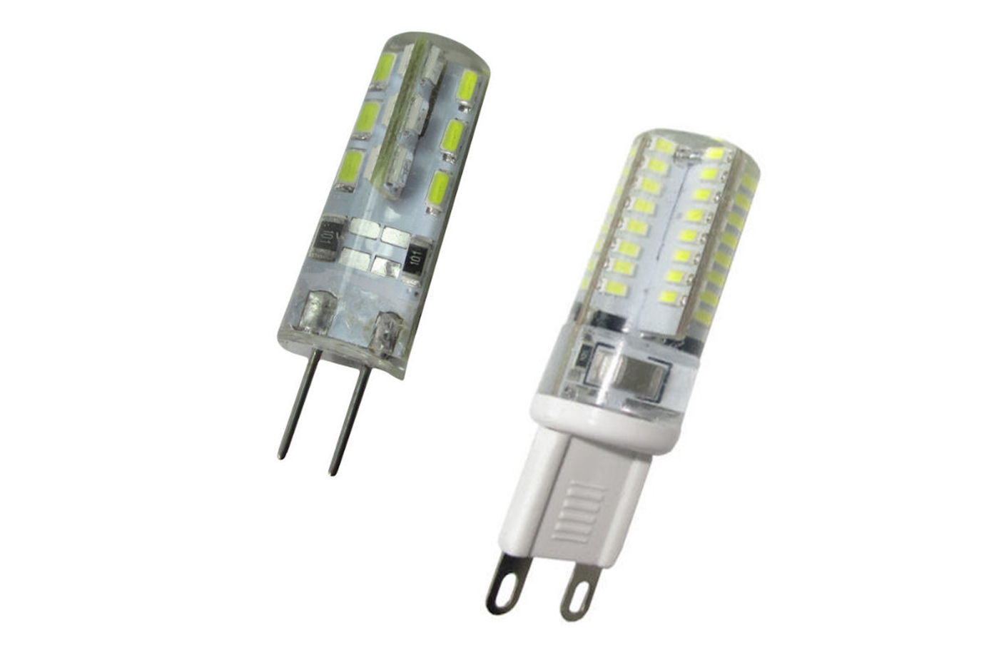 Lampadine Led Attacco G4.Dettagli Su Lampadina Lampada Led Attacco G4 G9 12 220 Volt V Joker Bulk Luce Calda Fredda