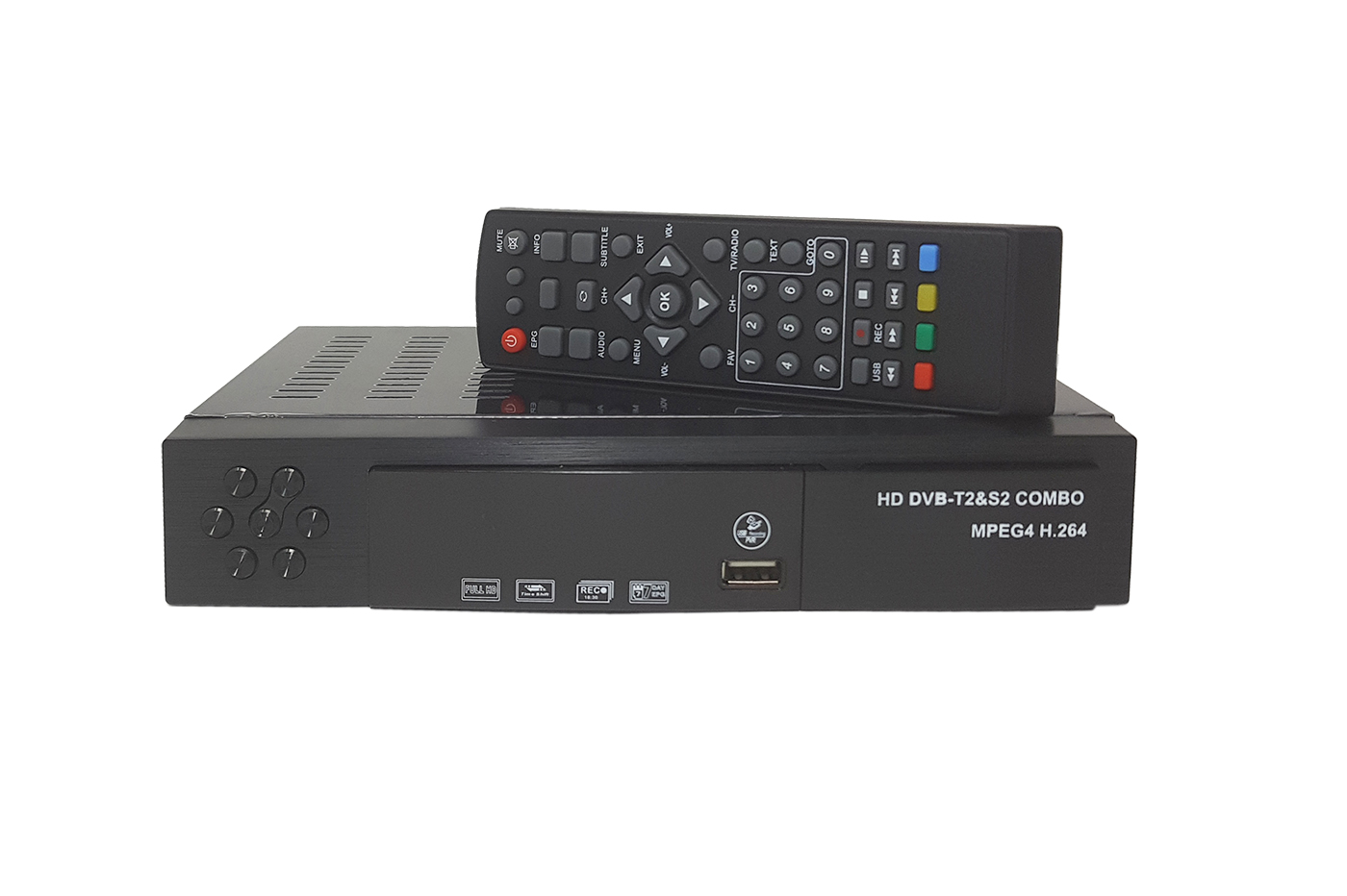Decoder digitale combo full hd terrestre satellitare 1080p dvb T2 S2