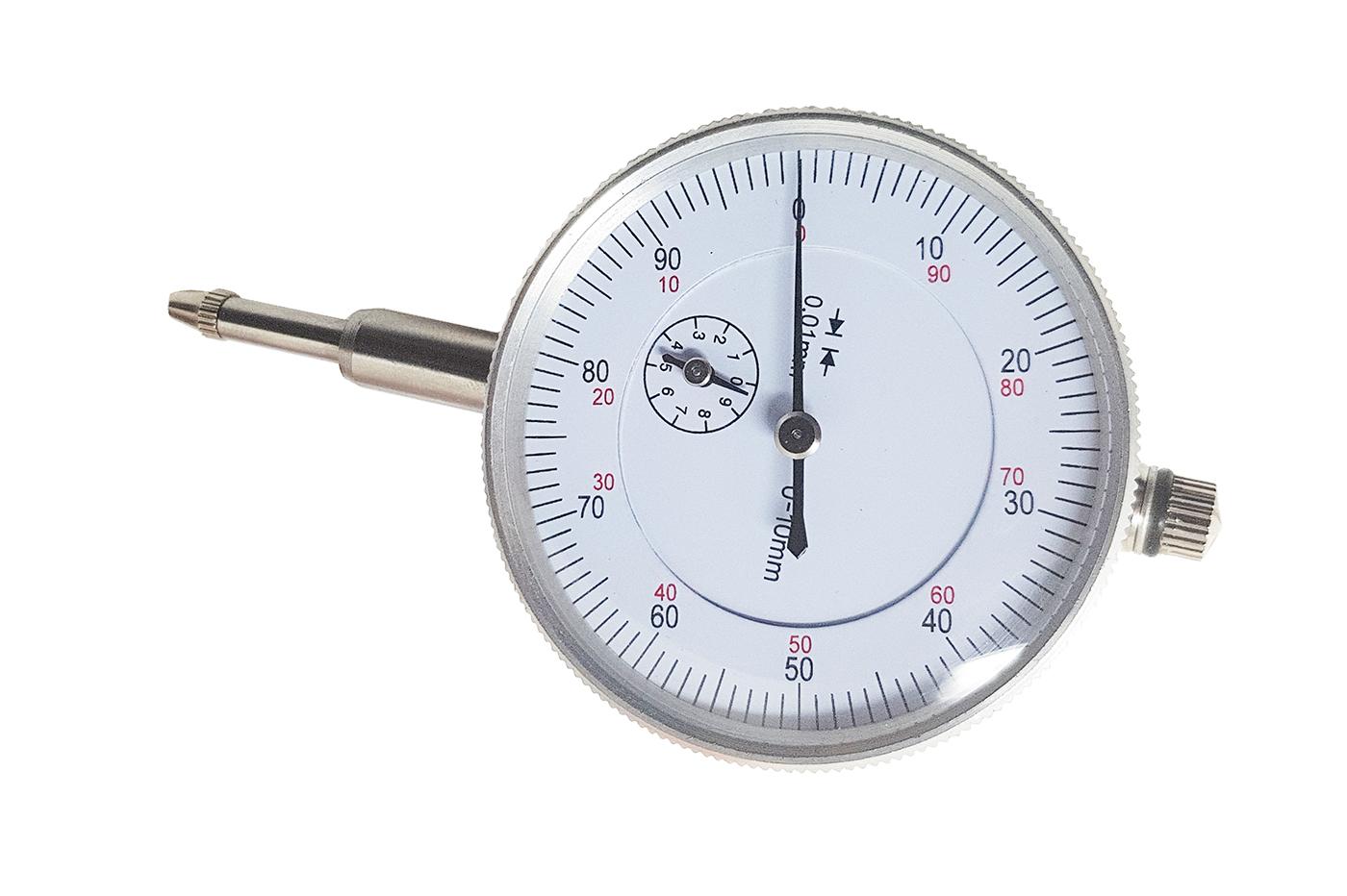Comparatore centesimale a orologio 0 10mm risoluzione 0 01mm per base magnetica ebay - Comparatore a finestra ...