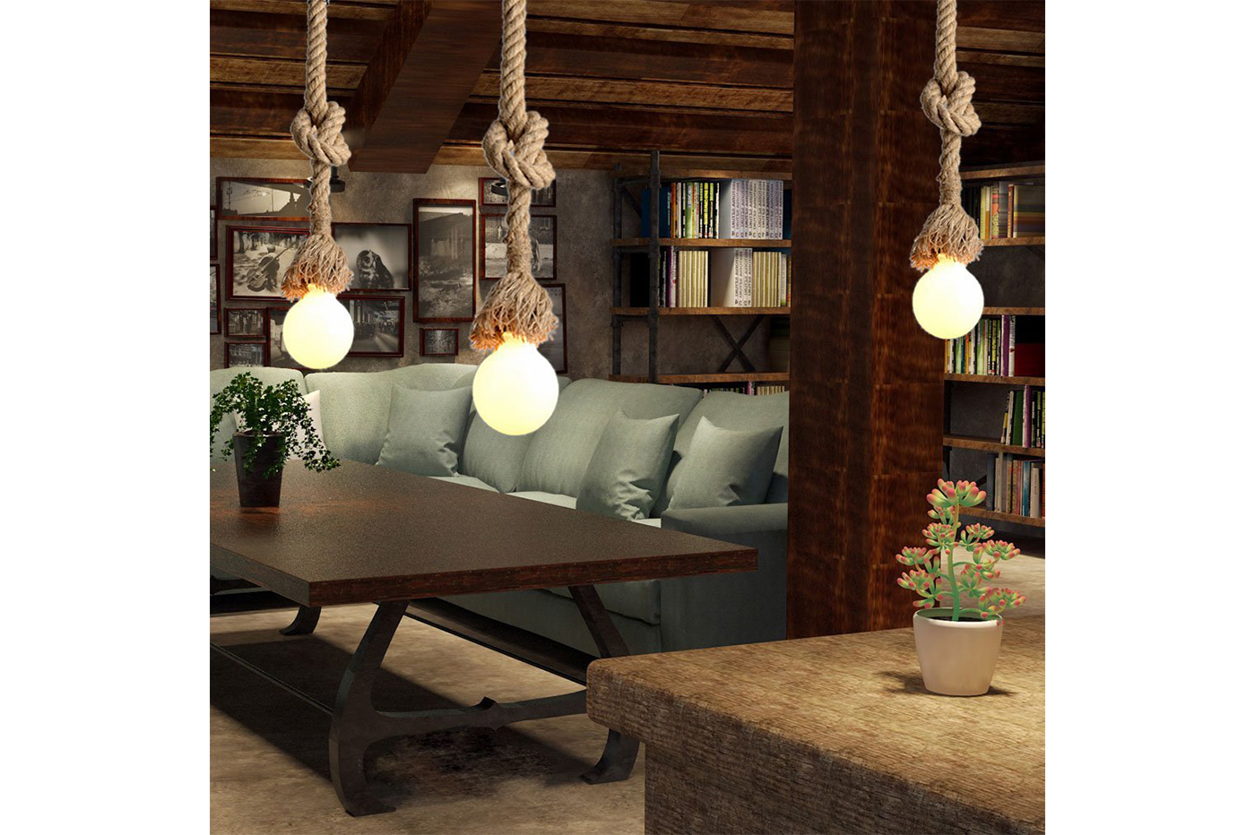 Bes lampadari beselettronica lampadario corda