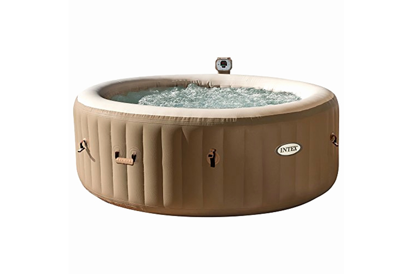 INTEX 28404 Pure spa bubble therapy 196x71 cm 120 getti idromassaggio 4 posti