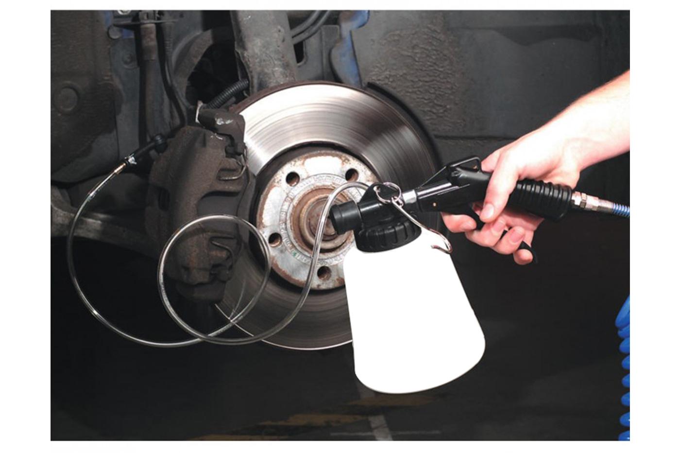 Techting Auto Car Vehicle Moto Freno Idraulico spurgo dei Freni di spurgo Frizione Olio Pompa Olio Bleeding Replacement Kit Adattatore Tubo Flessibile Strumento