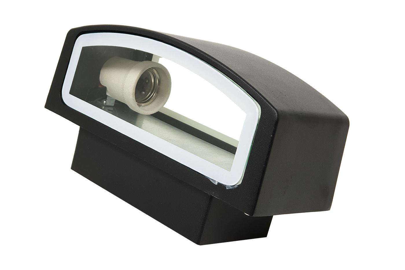 Plafoniera Da Esterno Con Telecamera : Bes applique beselettronica esterno nero