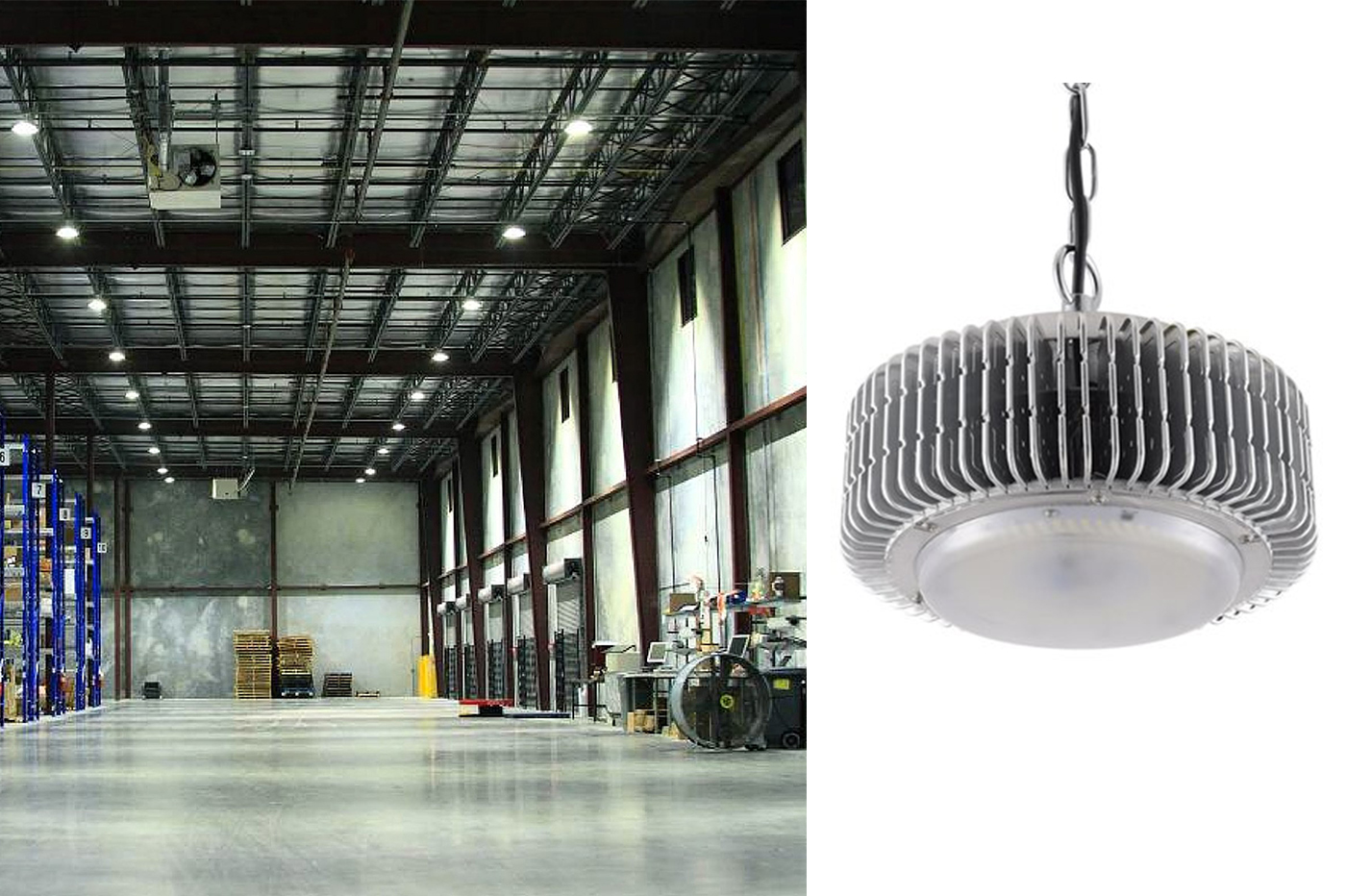 Bes 24953 illuminazione industriale beselettronica lampada a
