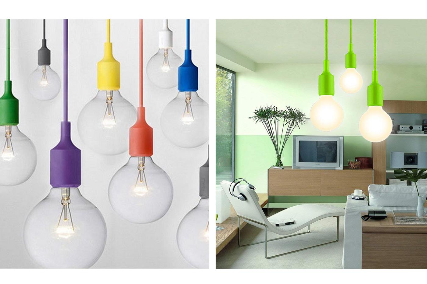 Bes 24975 lampadari beselettronica porta lampada sospensione