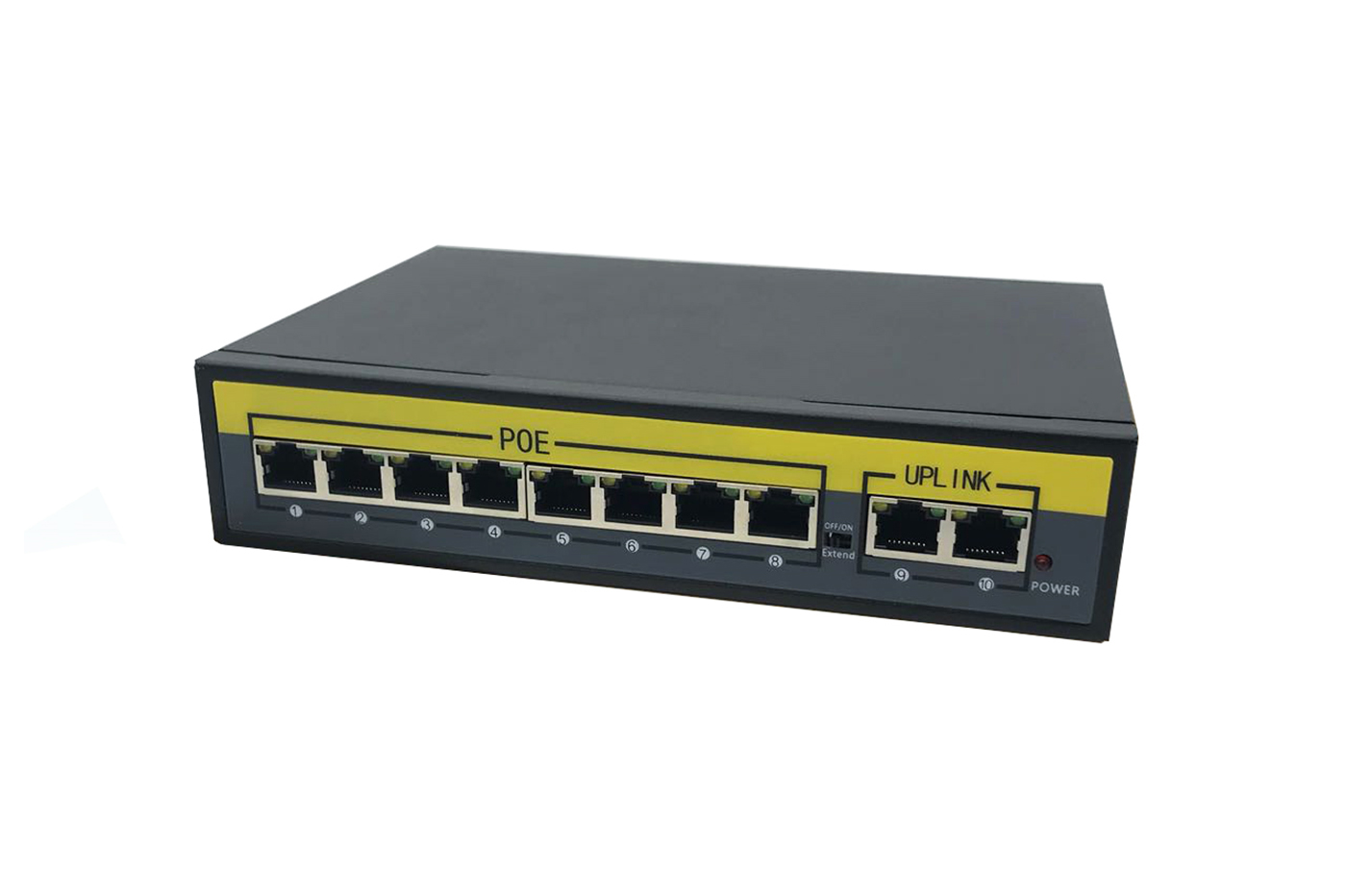 Switch PoE 8 porte ethernet 10/100 Mbps 2 porte uplink 1010B