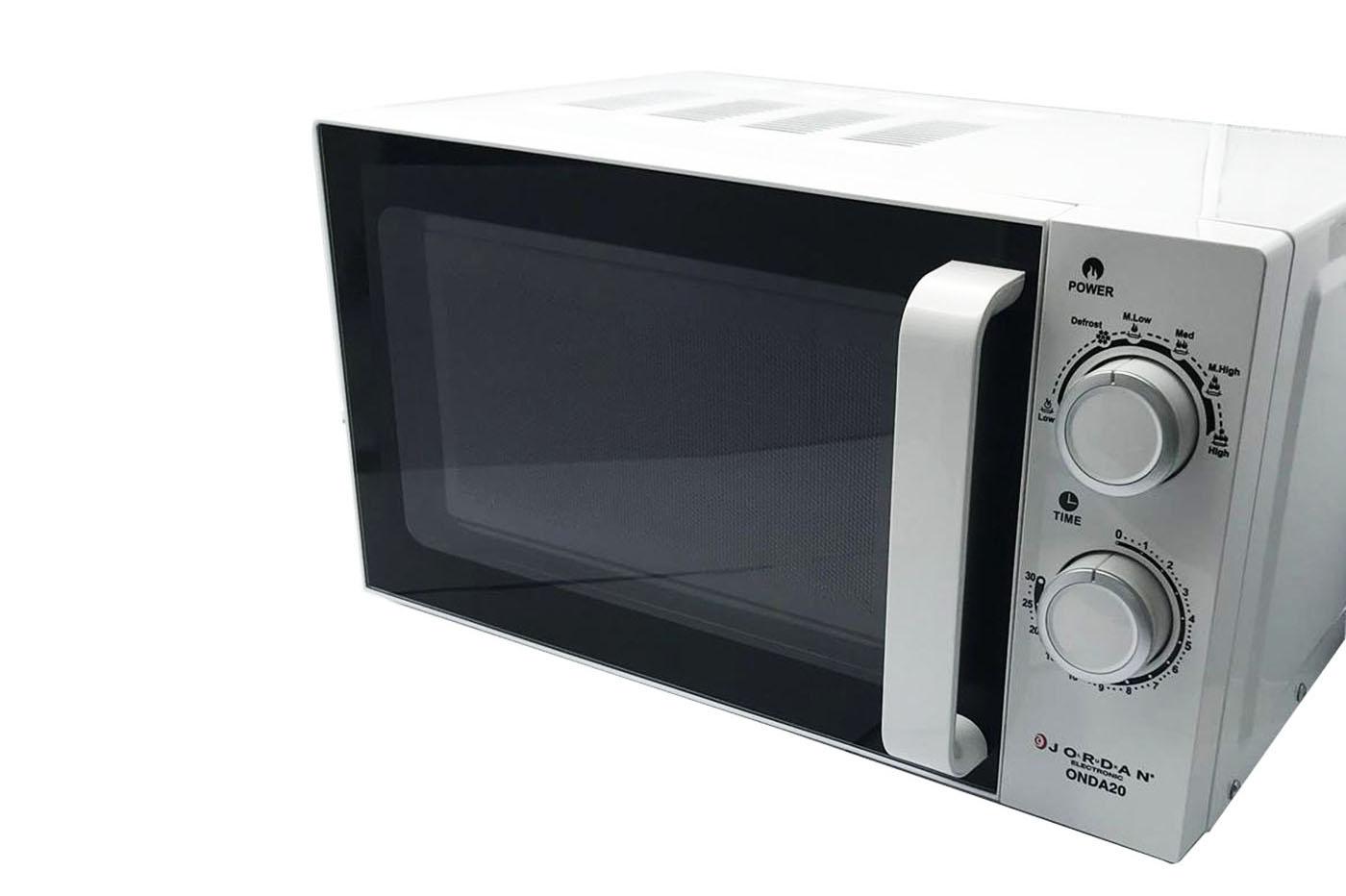 Forno a microonde 20L funzione defrost bianco 700W piatto in
