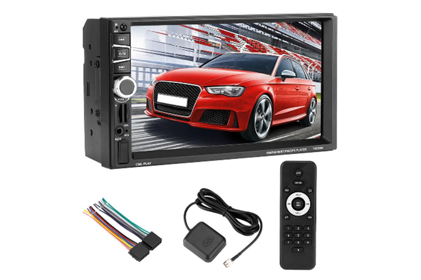 "Stereo autoradio 2 din 7"" universale MP5 touchscreen GPS aux usb TF card 7030"