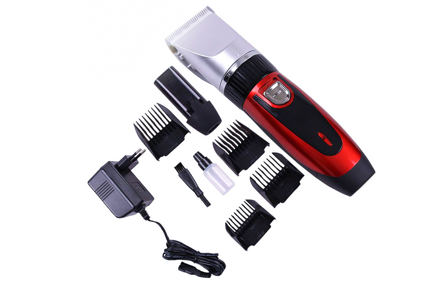 Kit rasoio elettrico taglia capelli 3W regola barba ...