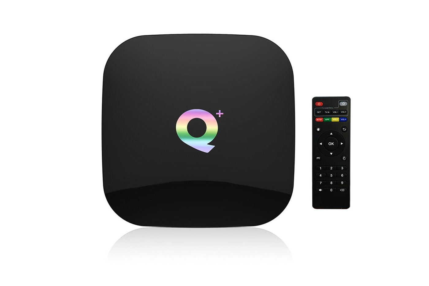 Android tv box 8K HD 9.0 64gb wifi 2.4 telecomando 1080P 4 core
