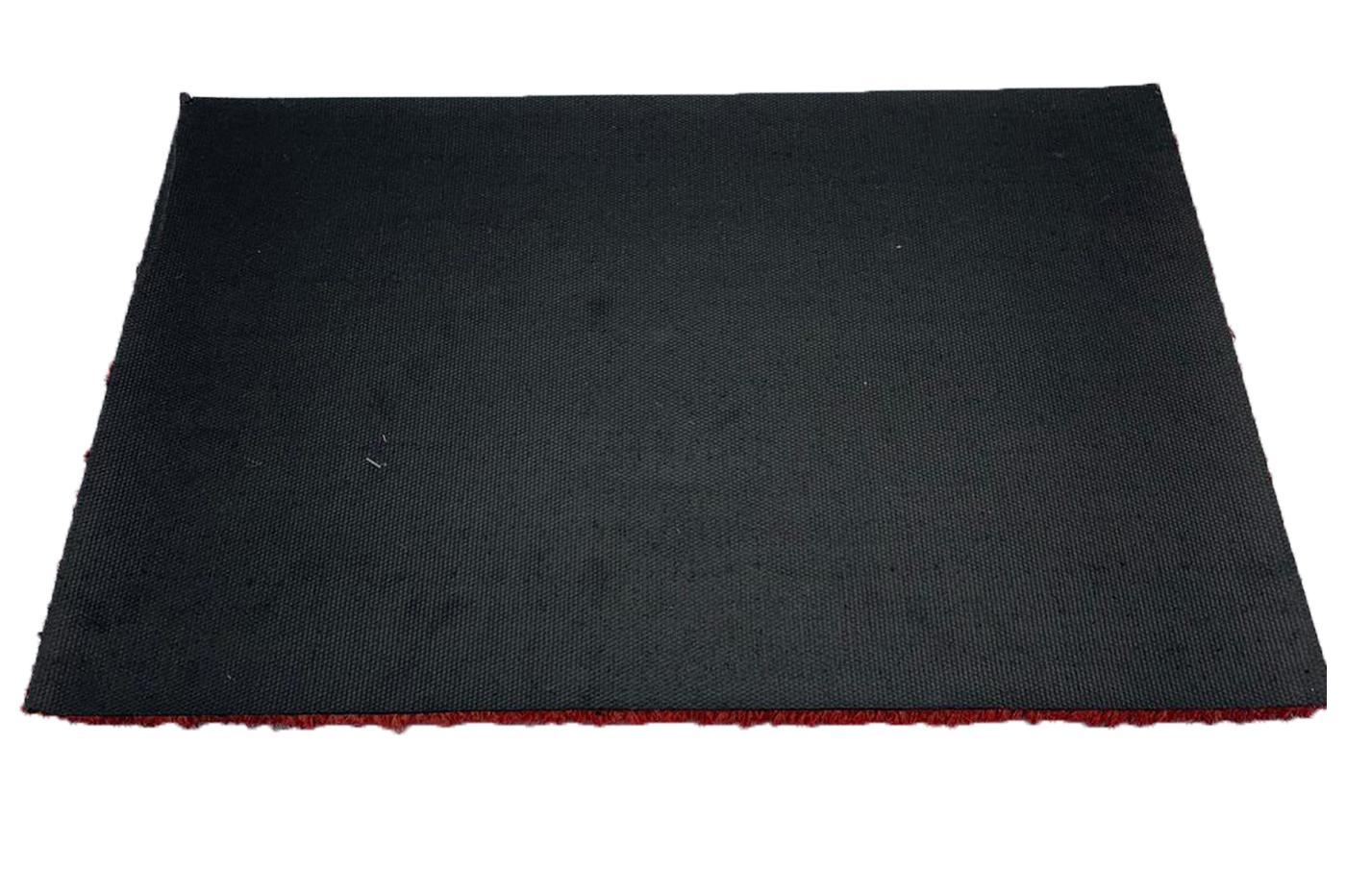 CLICLED Zerbino Natalizio Fibra di Cocco Tappeto 40 x 60 cm Antiscivolo per Natale