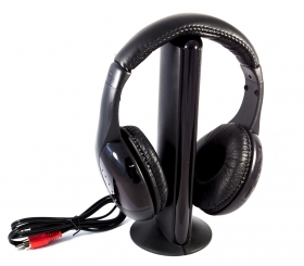 CUFFIA WIRELESS HEADPHONE 5 IN 1 HI-FI
