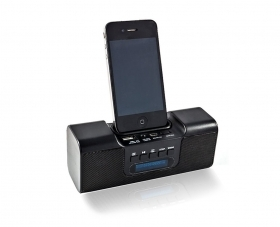 DOCK CASSA SPEAKER COMPATIBILE IPHONE IPOD MP3 MICRO SD USB FM