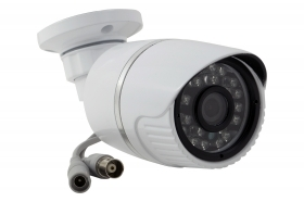 TELECAMERA VIDEOSORVEGLIANZA AHD 24 LED 3.6MM 1.0MP JT-6036AHD