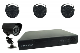 KIT DVR VIDEOSORVEGLIANZA HDMI