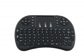 MINI TASTIERA QWERTY TELECOMANDO MOUSE TOUCHPAD PC ANDROID TV TABLET