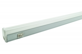 PLAFONIERA LED 6W 30CM LUCE FREDDA T5 IP20 SOTTOPENSILE INTERRUTTORE DR