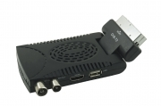Decoder mini digitale terrestre dvb t3 scart 180 usb H.265 hdmi HD-333A