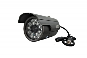 TELECAMERA HD CCD SONY VIDEOSORVEGLIANZA 6 MM 800 TVL 20 BIG LED IR BNC 780