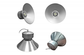 Lampadario led industriale par