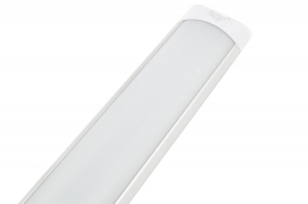 Plafoniera barra led soffitto 30cm luce fredda 10w collegabili in serie applique