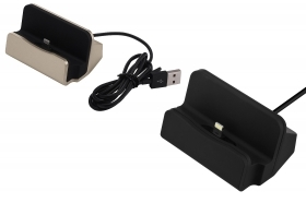 CARICABATTERIE PORTATILE DOCK STATION IPHONE CARICATORE DA TAVOLO IPHONE PLUS