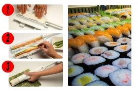 KIT SUSHI ROLL MACCHINA MAKER