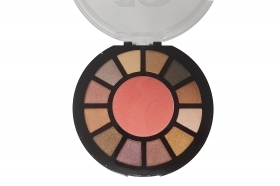 Palette ombretto da 12 colori e 1 blush trucco occhi make-up romatic bird T317 A