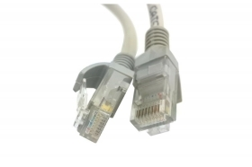 CAVO UTP CAT.5 RETE LAN RJ45 PC INTERNET 5 METRI LINQ IT-5M