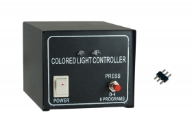 CENTRALINA CONTROLLER RGB 3 PIN STRISCE STRISCIA LED STRIP LIGHT 220V