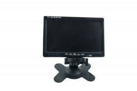 MONITOR LCD 7 POLLICI VIDEO DVD GPS TELECAMERA RETROMARCIA 2 INGRESSI RCA 1024