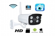 Telecamera ip hd wifi p2p 4 led array infrarossi wireless tf card bd-dp604