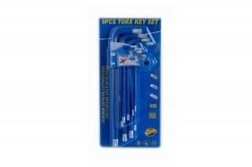 SET 9 CHIAVINI TORX T10-T50 CO