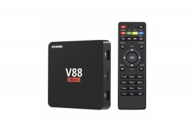 Android tv box internet tv smart 8gb multimedia player tv wi-fi hd 4k V88 mars