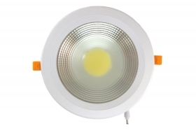 Faretto incasso led cob 30 w l