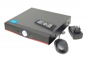 DVR 5 in 1 hdmi 4 canali h265 video recorder cvr 1080p ahd 6604