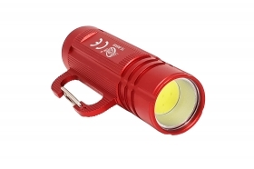 Mini torcia cob led alluminio