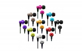 CUFFIE HIFI PER IPOD MICROFONO MP3 MP4 IN EAR COLOR JACK 3.5MM ES900M