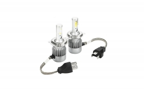 KIT LUCI LED C6 H4-3 COB 3800L