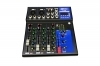 Mixer controller audio professionale 4 canali usb karaoke mp3 dj F4 usb