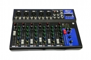 Mixer controller audio professionale 7 canali usb karaoke mp3 dj F7 usb