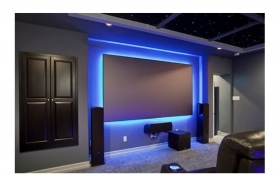 Striscia strip led 5m luce blu