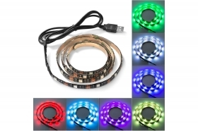 STRISCIA STRIP LED RGB 1 M MET