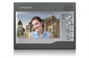 "Monitor per videocitofono LCD schermo interno 7"" touch screen doorphone ZDL-27"