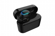 Mini cuffia in-ear auricolare wireless V5.0 hd bluetooth ricaricabile Q-B 01